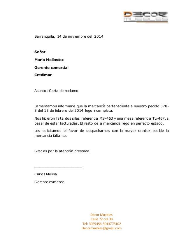 Carta de disputa de reclamo de seguro de automóvil – Plantilla