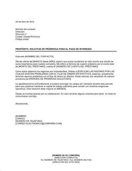 Carta de solicitud de pago [muestras]
