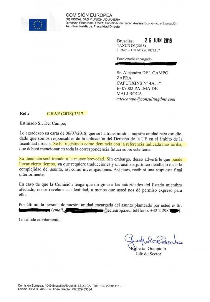 Modelo de carta para rescindir el contrato con el agente de bienes raíces
