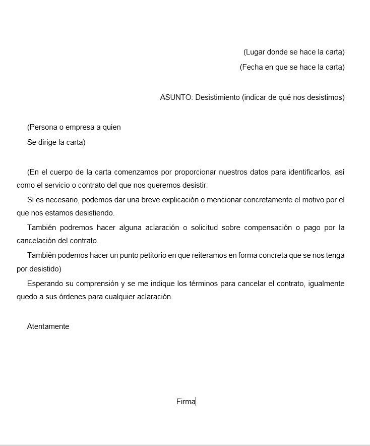 [Muestra] Carta de apelación para un apartamento